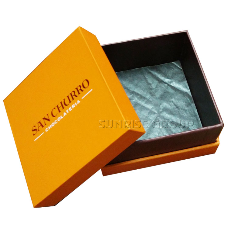 Customized Chocolate Gift Box with pad