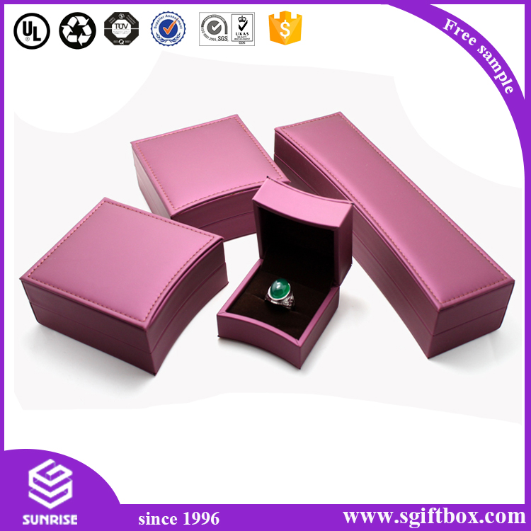 Highend Custom Leather Fashion Design Jewelry BoxDongguan Sunrise