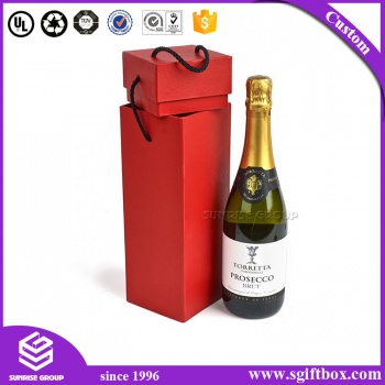 Top Inquiries Custom Luxury Paper Packaging Gift Wine Box