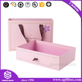 Custom Luxury Cardboard Drawer Packaging Gift Box