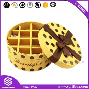 Customized Size Luxury Design Paper Gift Chocolate Box