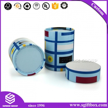 Top level Decorative Design Round Packaging Box