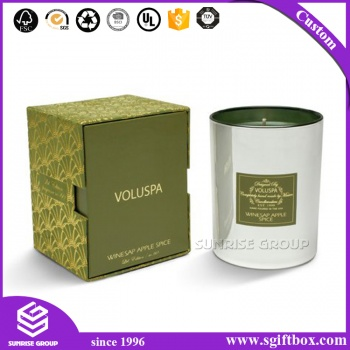 Wholesales Custom Made Candle Packaging Paper Gift Box