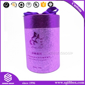 Luxury Customized Speciality Tube Round Paper Box for Packing
