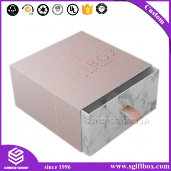 Hot Sale Custom Design Paper Gift Packing Drawer Box