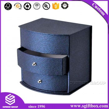 Quality Grey Cardboard Paper Drawer Box