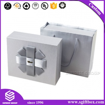 Luxury Lid-off Cardboard Paper Gift Shopping Cloth Packaging Box