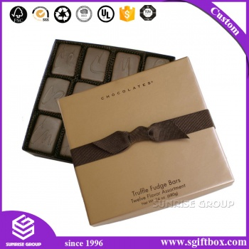 High-end Custom Logo Printing Christmas Gift Chocolate Box