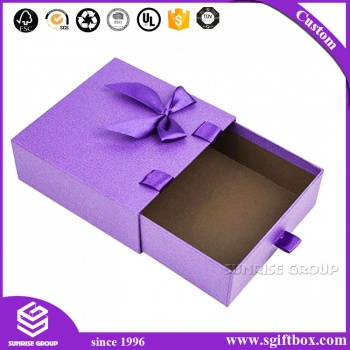 High Quality Customized Luxury Packaging Paper Drawer Box