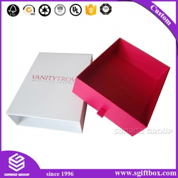 Pull Out Drawer Paper Box for Jewellery Clothing Shoes with handle