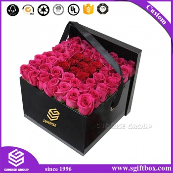 Customized Preserved Square Boxes for Packaging Flowers