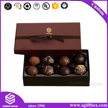 High-end Custom Valentine's  Day Gift Chocolate Box