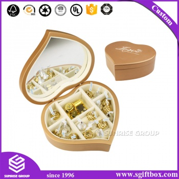 Luxury Heart Shape Gift Chocolate Box