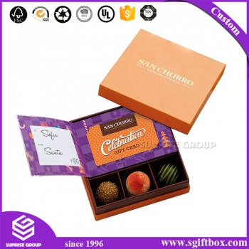 Special Design Candy Box for Kids Chocolate Packaging Box