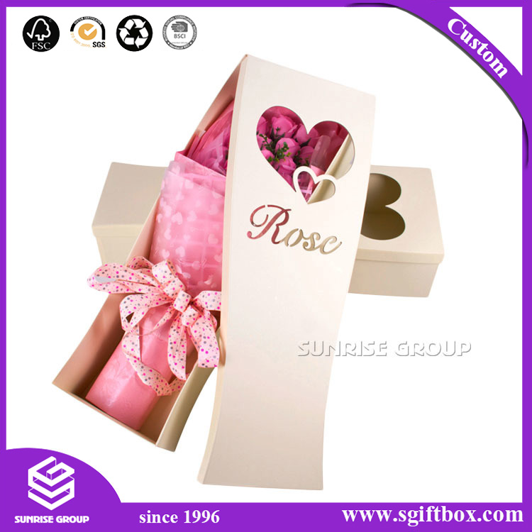 Luxury Packaging Box for Flowers in A Box