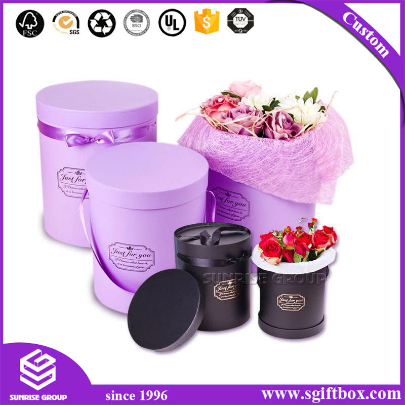Elegant Flower Packaging Paper Packaging Flower Box