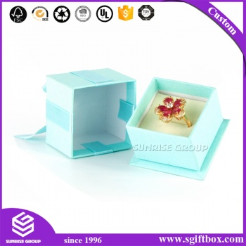 Pendant Paper Cardboard Packaging Gift Jewelry Box