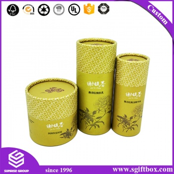 China Manufacturer Proceed Round Cosmetic Perfume Bottle Box