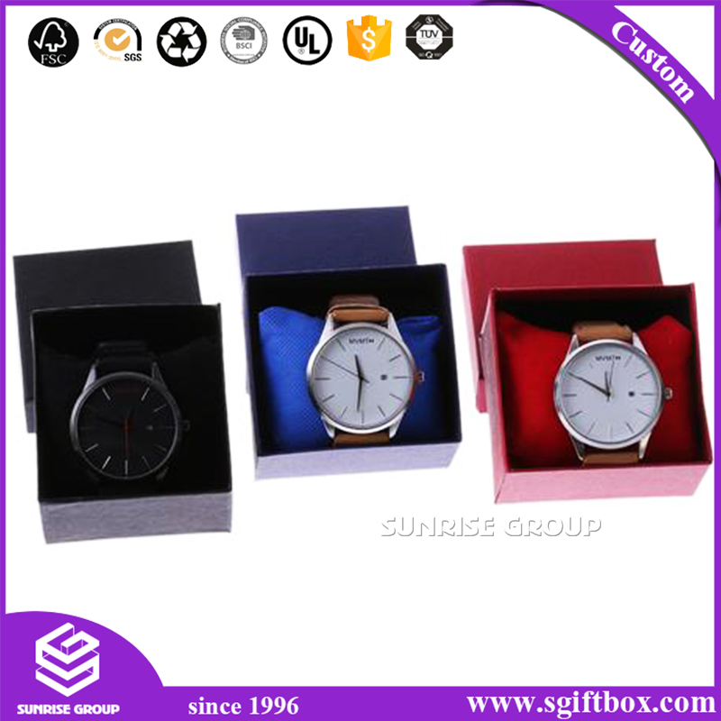 Retail Personalized Special Paper Wholesale Watch Box