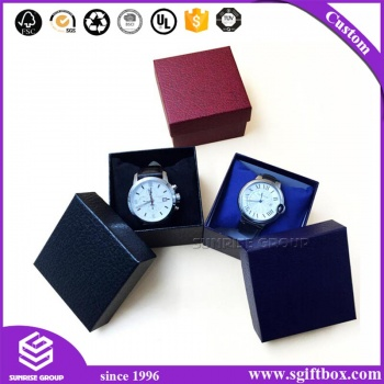 Creative Design Luxury Branded Custom Logo Cardboard Paper Watch Box