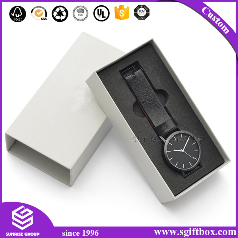 Sunrise High-End Custom Foil Watch Gift Collection Box for Sale