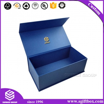 Royal Blue High-end Custom Printing Packaging Paper Magnetic Box