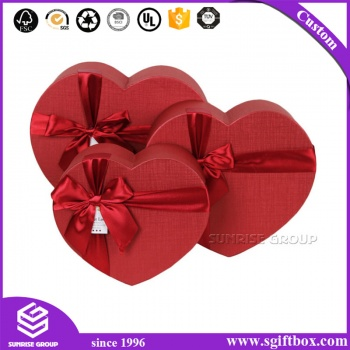 New Design Custom Heart Shape Gift Box for Packaging