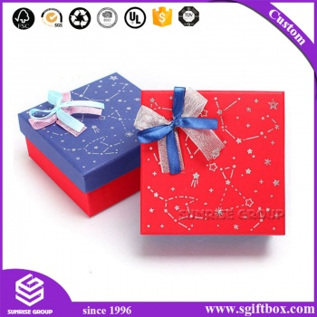Manufacturer Elegant Packaging Rigid Paper Tie Gift Box, Tie Clip Box