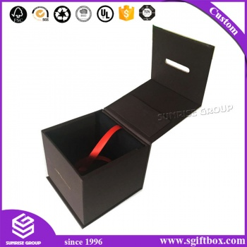 Luxury Costom-make Special Design For Watch Jewelry Shoes Packaging Paper Foladble Box