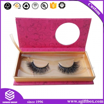 Custom Cardboard Packaging Eyelash Gift Paper Printing Cosmetic Magnetic Closure Box