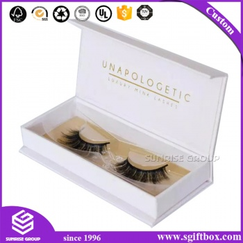 Wholesale Custom Cosmetic Paper Printing Eyelash Gift Packaging Box