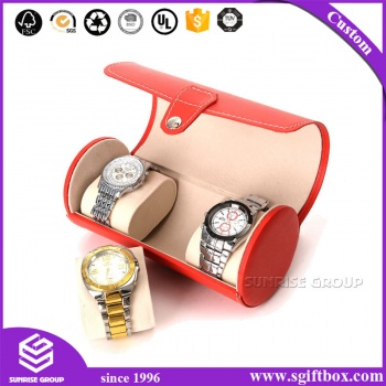Leather Packaging Three Pieces Watch Box